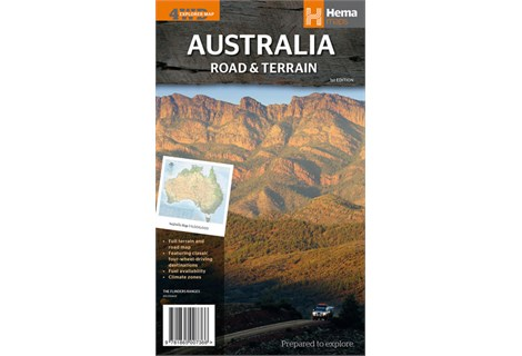 Australia Road and Terrain