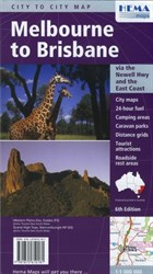 Hema Maps State & City, Melbourne to Brisbane