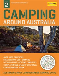 ExploreAustralia Books Camping Guides, Camping Around Australia