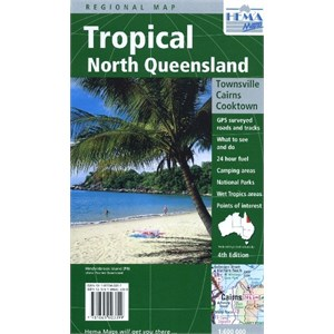 Hema Maps Outback & Regional, Tropical North Queensland