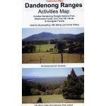 Rooftop Maps Outback & Regional, Dandenong Ranges Activities Map