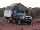 Camping with Travelander near Meekatharra