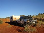Near the Stuart Highway NT